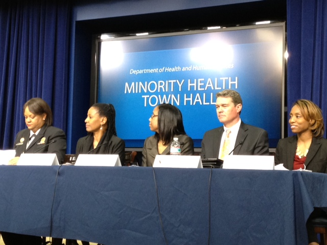 Minority Health White House Blogger Townhall Panel
